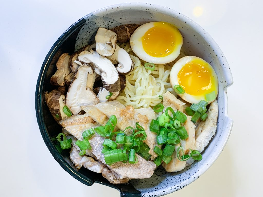 ramen soft boiled egg