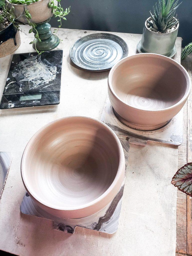 handmade ramen noodle bowls